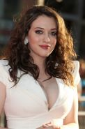 Kat Dennings showing awesome cleavage at the premiere of 'Thor
