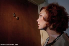 Audrey plays an unfaithful wife who used up like a fuck doll!