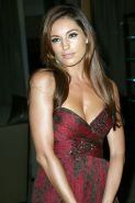 Kelly Brook showing huge cleavage in strapless dress at the 'Breakthrough of the