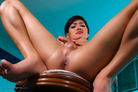 Short hair ladyboy