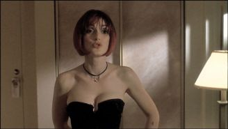 Winona Ryder showing her nice small tits and gets fucked hard