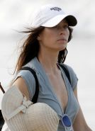 Jessica Biel showing booty  pokies at the beach in Puerto Rico