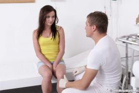 The visit to her doctor ended up with a hot fuck session