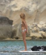 Millie Mackintosh caught topless on the boat in Ibiza