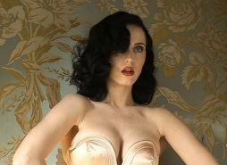Katy Perry exposing her sexy body and huge boobs behind the stage
