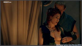Jaime Murray nude and sex scenes from Spartacus