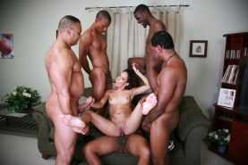 Small tits ebony bdsm gangbang orgy sex and facial bukkake #69144502
