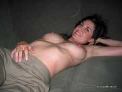 Lonely amateur milf showing off naked