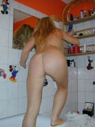 Small Tit Blonde House Wife Shaving Her Snatch In The Shower #77631668