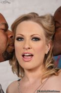 Sexy Vicky Vixen gets interracial sex at Blacks On Blondes
