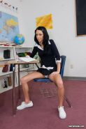 Schoolgirl Stephanie Cane in hard fuck for a grade