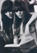 Pretty classic ladies posing naked in sixties