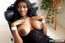 Naomi Banxxx rides fat cock before getting covered in huge amounts of chocolate