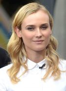 Diane Kruger wearing skimpy retro outfit at The Grove in Los Angeles