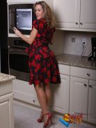 Brandi Love Masturbating in the Kitchen