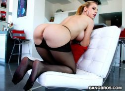 Jessie Rogers banged in her white brazilian ass