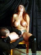 Amateur Sexslave Ginas hardcore needle pain and pussy torture of busty british s
