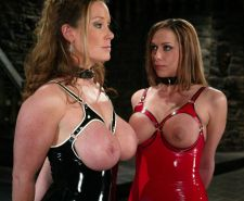 Latex Lesbians Tied Up And Abused By Mistress Hot Bondage Babes