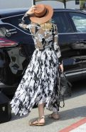 Diane Kruger shows off her big boobs in see through dress