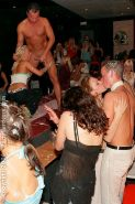 PARTY HARDCORE :: Creamed muscular strangers seducing naughty girls in club