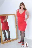 Curvy biusty british brunette milf josephine james