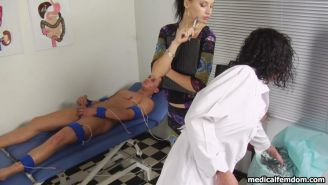 Groovy but dangerous femdom medical tests