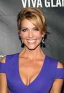 Tricia Helfer showing huge cleavage at amfAR LA Inspiration Gala in Hollywood