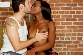 Ana Foxxx gets a hard interracial fucking