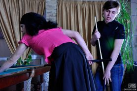 Freaky sissy guy in a female outfit welcomes a sturdy rod up his