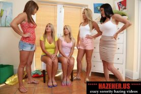 Sorority girls hazing and humiliation