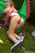 Small tits teen outdoors #73521953