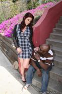 Tiffany Mynx gets her tight asshole drilled by a black Guy