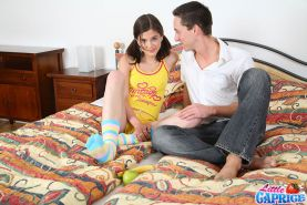 Little Caprice gets fucked hard in her bed