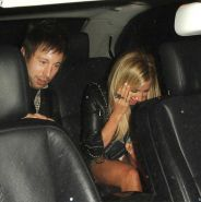 Ashley Tisdale upskirt outside Lexington Social House in Hollywood