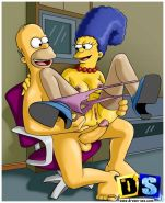 Marge Simpson gets whored out. Coping with Jane Jetson's nymphom