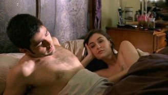 Sasha Grey exposing her nice big tits and full nude in movie scenes
