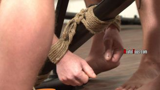 relentlessly hardcore gay BDSM where bottoms are sexually used by inventive, con