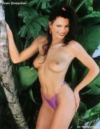 Fran Drescher showing her pussy and tits and fucking hard