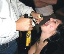 Real drunk amateurs getting exposed