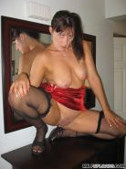 Amateur mature lady showing off nude #77656931