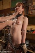 Claire Robbins wakes up on her third day of slave training!!!