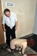 Dirty humiliation and messy food domination of Isabel Dean