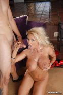 Blond Stepmom Holly Halston Drilling Her Pussy Deep And Hard