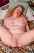 Fat mature redhead getting nasty and spreading her big pussy #71732382