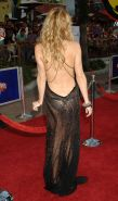 Kate Hudson looking very sexy in see thru and tight dress