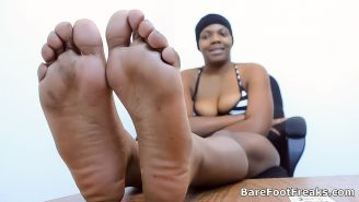 Ghetto Feet and Big Juicy Black Ass