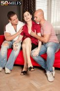Czech sex out the double penetrated milf