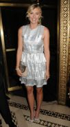 Maria Sharapova leggy at ACE Awards at Cipriani 42nd Street in New York