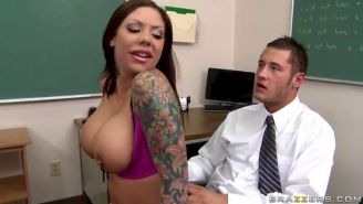 Mason Moore gives her teacher a lap dance and more