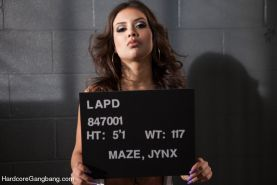 Jynx Maze stars in what is possibly the most epic gangbang porn of all time! In